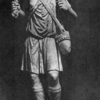Статуя Доброго пастыря. Мрамор. 3 в. Рим. Латеранский музей