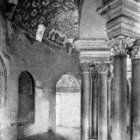Церковь Санта Костанца в Риме. Первая половина 4 в. Внутренний вид