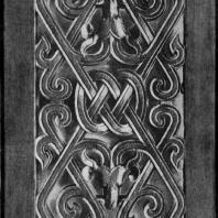 Резная деревянная доска из Чанша. Период Чжаньго. 5—3 вв. до н. э. Пекин. Исторический музей