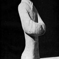 Терракотовая статуэтка девушки. Период Хань. 3 в. до н. э. — 3 в. н. э.